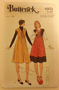 Butterick Pattern 4953